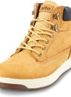 Site Touchstone Men's Honey Safety boots  Size 8