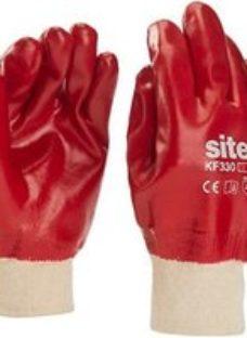 Site Cotton General handling gloves  Large