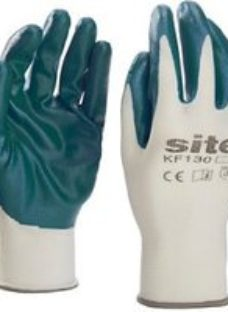 Site Nylon General handling gloves  Large