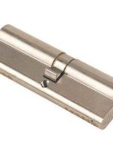 Yale KM Series Satin Nickel Euro Cylinder lock  (L)95mm (W)17mm