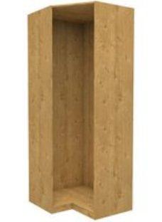 Form Darwin Modular Oak effect Corner cabinet (H)2356mm (W)998mm (D)854mm