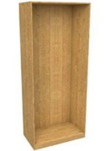 Form Darwin Modular Oak effect Tall Wardrobe cabinet (H)2356mm (W)1000mm (D)566mm