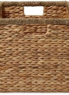 Mixxit Seagrass & water hyacinth Storage basket (H)310mm (W)310mm
