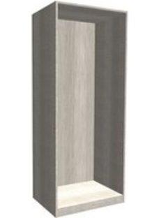 Form Darwin Modular Grey oak effect Tall Wardrobe cabinet (H)2356mm (W)750mm (D)566mm