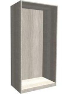 Form Darwin Modular Grey oak effect Tall Wardrobe cabinet (H)2356mm (W)1000mm (D)566mm