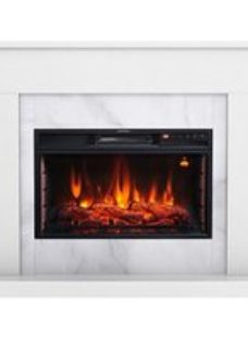 Focal Point Easton White Electric Fire suite