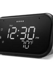 Lenovo Smart clock with Google Assistant  Grey