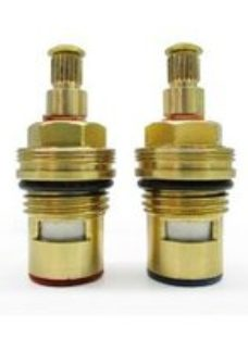 """Plumbsure Brass Threaded Tap gland ¼"""" (Dia)9mm  Pack of 2"""