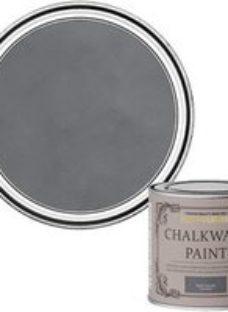 Rust-Oleum Chalkwash Dark concrete Flat matt Emulsion paint  125ml