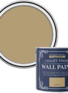 Rust-Oleum Chalky Finish Wall Sandstorm Flat matt Emulsion paint  2.5L