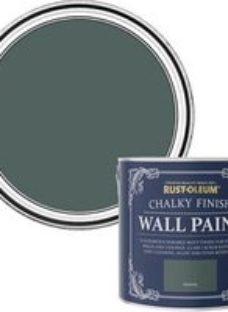 Rust-Oleum Chalky Finish Wall Serenity Flat matt Emulsion paint  2.5L