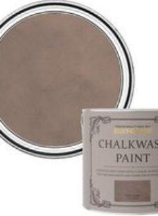 Rust-Oleum Chalkwash Warm taupe Flat matt Emulsion paint  2.5L