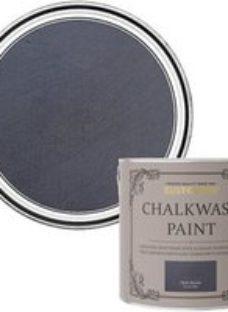Rust-Oleum Chalkwash Dark denim Flat matt Emulsion paint  2.5L