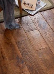 GoodHome Skanor wide Natural Oak Solid wood flooring  1.8m² Pack