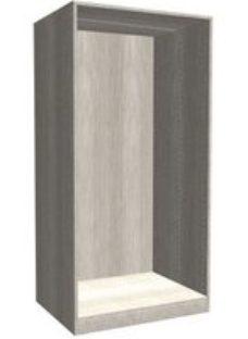 Form Darwin Modular Grey oak effect Large Cabinet (H)1506mm (W)750mm (D)566mm