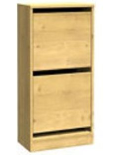 Form Darwin Oak effect Shoe rack (H)951mm (W)500mm