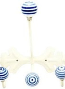 B&Q Cream ABS Hook (H)250mm