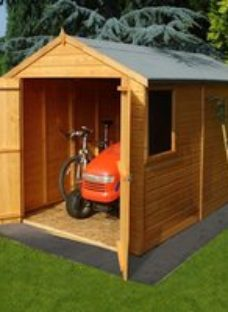Shire Warwick 12x6 Apex Shiplap Wooden Shed