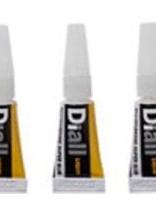 Diall Liquid Superglue 1ml  Pack of 3