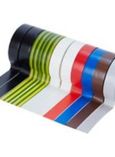 Diall Multicolour Electrical Tape (L)10m (W)15mm  Pack of 10