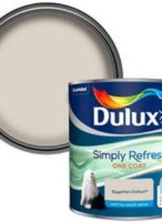 Dulux One coat Egyptian cotton Matt Emulsion paint  2.5L