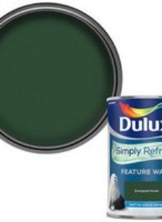 Dulux One coat Everglade forest Matt Emulsion paint  1.25L