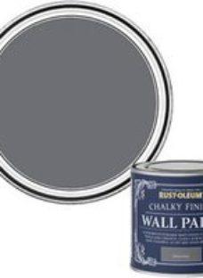 Rust-Oleum Chalky Finish Wall Marine grey Flat matt 125ml