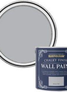 Rust-Oleum Chalky Finish Wall Monaco mist Flat matt Emulsion paint  2.5L