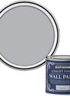 Rust-Oleum Chalky Finish Wall Monaco mist Flat matt Emulsion paint  125ml
