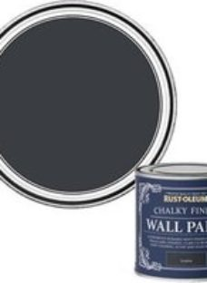 Rust-Oleum Chalky Finish Wall Graphite Flat matt 125ml