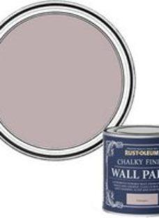 Rust-Oleum Chalky Finish Wall Homespun Flat matt Emulsion paint  125ml