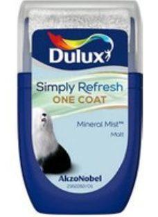 Dulux One coat Mineral mist Matt Emulsion paint  30ml Tester pot