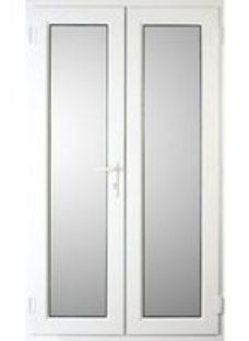 Weston White uPVC Door set(W)1190mm
