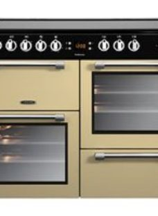 Leisure Cookmaster CK100C210K Freestanding Electric Range cooker with Electric Hob