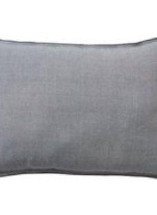 Rural Twill Grey Cushion (L)50cm x (W)50cm
