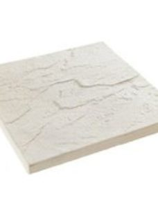 Derbyshire Grey Reconstituted stone Paving slab (L)450mm (W)450mm  Pack of 76