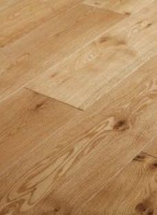GoodHome Ystad Natural Oak Solid wood flooring  1.44m² Set