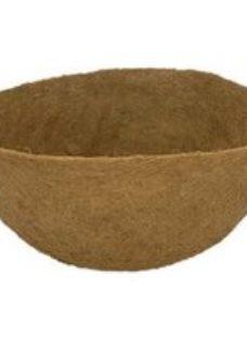 Verve Natural fibre Hanging basket Plant container liner 6L