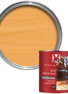 V33 Clear Decking Wood oil  5L