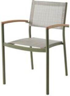 Akoa Kaki green Armchair