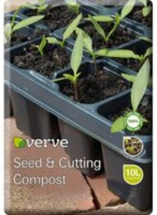 Verve Seed & cutting Compost 10L