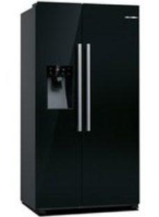 Bosch KAD93VBFPG American style Black Freestanding Fridge freezer