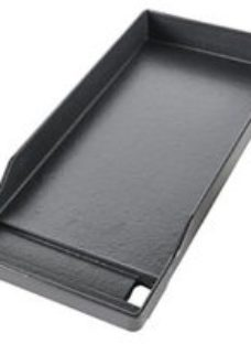 GoodHome Barbecue griddle 43x19.5cm