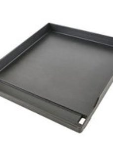 GoodHome Barbecue griddle 43x38.9cm