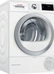 Bosch WTWH7660GB White Freestanding Heat pump Tumble dryer  9kg