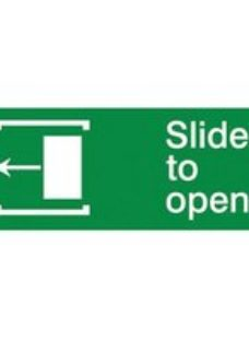 Slide to open Left arrow Self-adhesive labels  (H)80mm (W)200mm