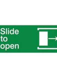 Slide to open Right arrow Self-adhesive labels  (H)80mm (W)200mm