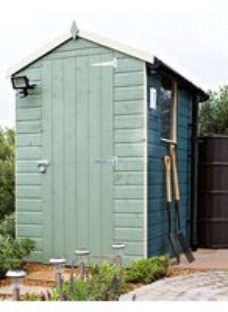 Shetland 6x4 Apex Shiplap Wooden Shed - Assembly service included