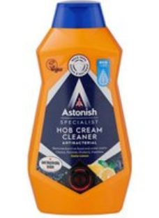 Astonish Zesty lemon Anti-bacterial Hob Kitchen Household cleaner  500ml 550g