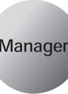 Manager Advisory sign